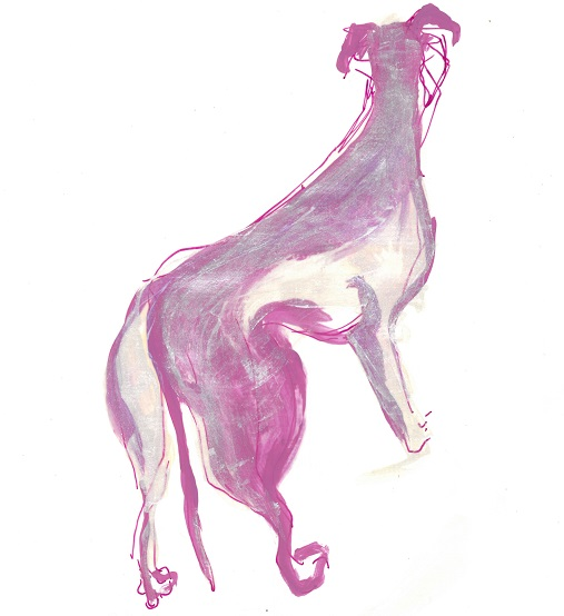 Greyhound-purple-whiteink